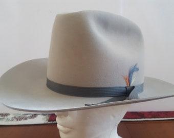8faea3b67fa Vintage 1970 s-1990 s JB Stetson 3X Beaver Cowboy hat