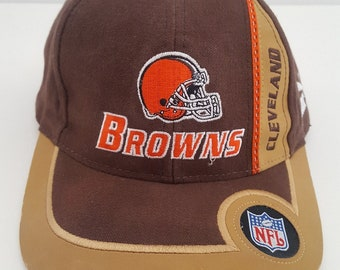 fef1aed608d Vintage mid 1990 s Cleveland Browns NFL sideline cap by Puma