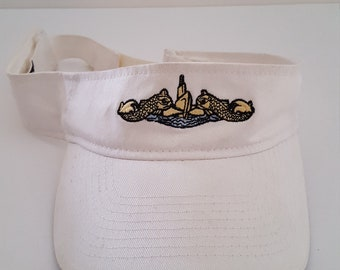 52d4ce7a87a Vintage 1980 s lightly worn US Navy Submarine Service embroidered