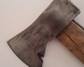 Vintage 1930 39 s woodsman long handled hatchet maul, cleaned head, unmarked great condition