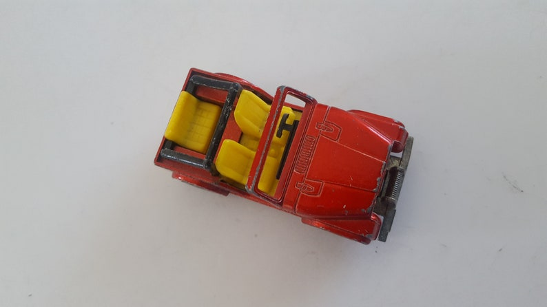 made in West Germany Vintage 1980 Siku No.1053 Jeep CJ-5 toy car