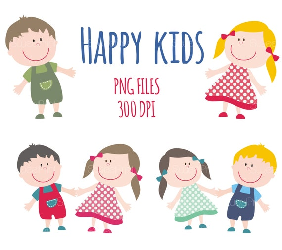 Five happy kids smiling stock vector. Illustration of happiness - 19609022