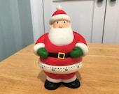 Hallmark Collectible Kitchen Timer-Santa Claus-Christmas-60 Minute Timer