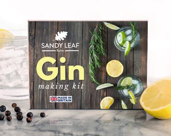Gin Making Kit - Make your own gin at home!