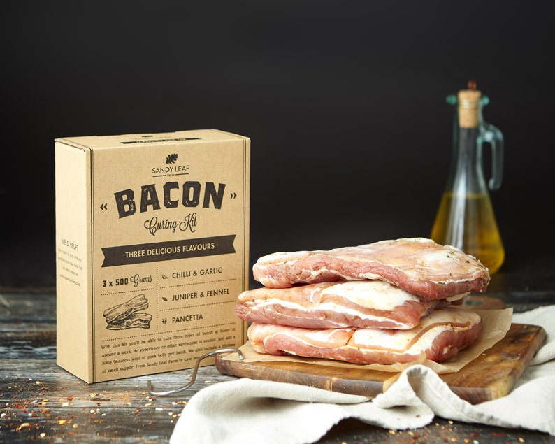 Bacon Curing Kit  Make your own bacon at home image 0