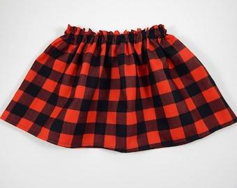 3681af6954 Girl Swing Skirt/Girl Buffalo Plaid Skirt/Baby Girl Skirt/Toddler Girl Skirt/Girl  Clothes/Baby Girl Clothes/Infant Girl Clothes/Swing Skirts
