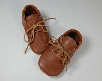 ac9c02429 Baby Shoes/Girls Oxfords/Boys Oxford/Girls Leather Shoes/Boys Leather Shoes/Toddler  Shoes/Infant Shoes/Baby Boy Shoe/Cork Brown Baby Shoes