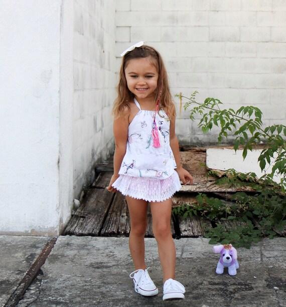 7703813858c5a Vêtements enfant fille vêtements de bébé   Boho rêve Halter