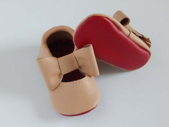 Baby Girl Nude Loubs Maryjanes Girls Red Bottom Shoesred-3564