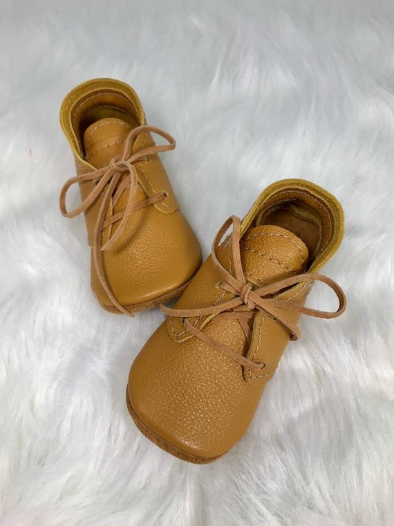 Girls Leather Mustard Oxfords / Boys Mustard Oxfords/ Toddler   Etsy