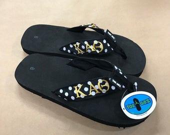 234b63d6985a Kappa Alpha Theta Sorority Flip Flop
