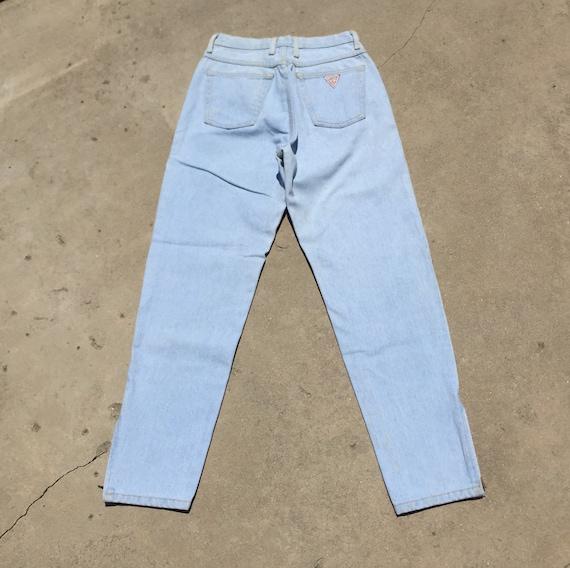 Vintage Guess Jeans // light wash jeans//high wai… - image 3