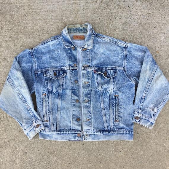 Vintage Levis Jacket // 80s Levis Jacket//levis je