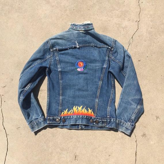 Big E Levis Jacket // Vintage Big E jacket //levis