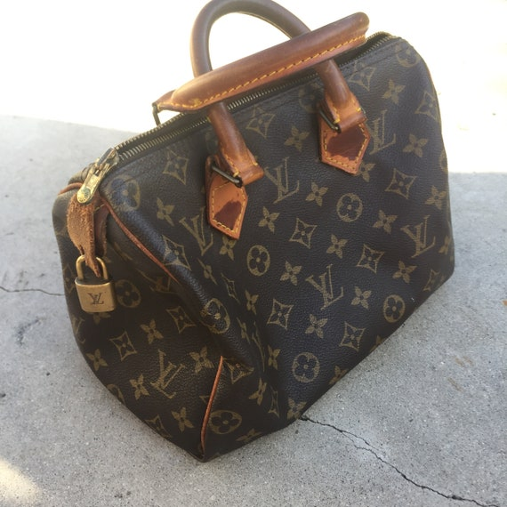 Vintage Louis Vuitton Speedy 25 // LV speedy//spee