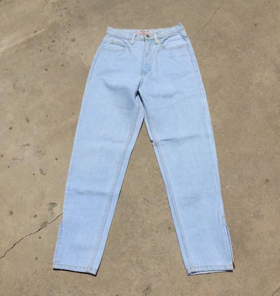 Vintage Guess Jeans // light wash jeans//high wai… - image 2