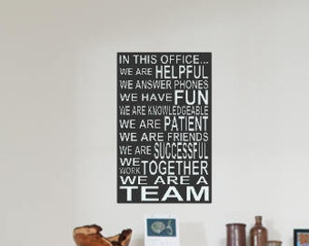 Nice Office Decor   Office Wall Art   Office Singage   Office Wall Decor   In  This