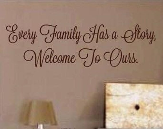 family vinyl quotes family vinyl wall decals family vinyl | etsy