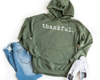 I Am Thankful for Books Thanksgiving Unisex Hoodie