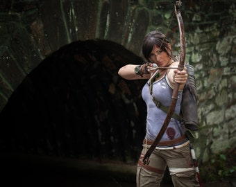 Recurve Bow for Lara Croft Tomb Raider Cosplay