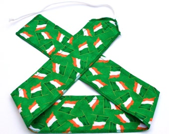Irish Flag - Weight Lifting Wrist Wraps