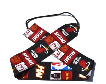 Miami Heat - Weight Lifting Wrist Wraps