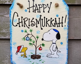 Merry Chrismukkah Etsy