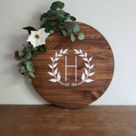Large 2 FT Round Wood Guestbook Alternative | Personalized Round Wood Guestbook | Wood Slab | Last Name Sign | Wedding Gift Alternative