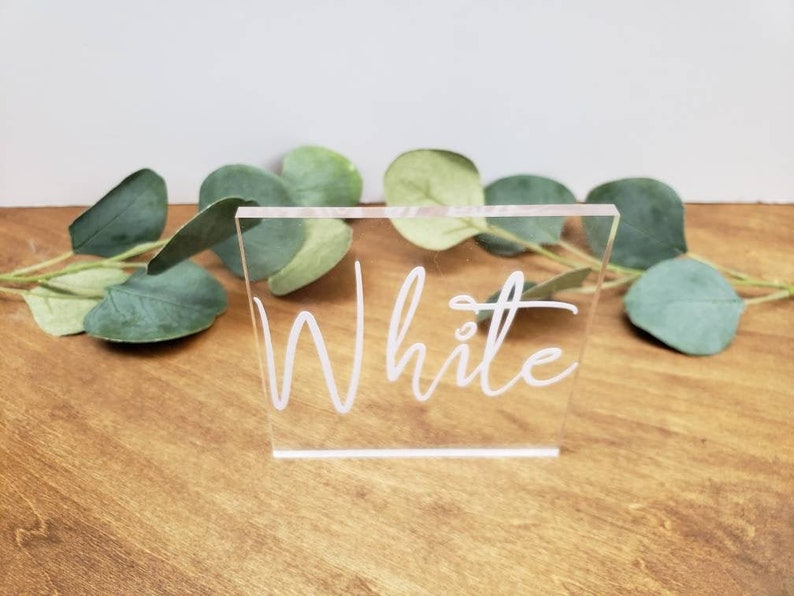 Acrylic Cake Topper Name   Personalized Wedding Cake Topper  image 0
