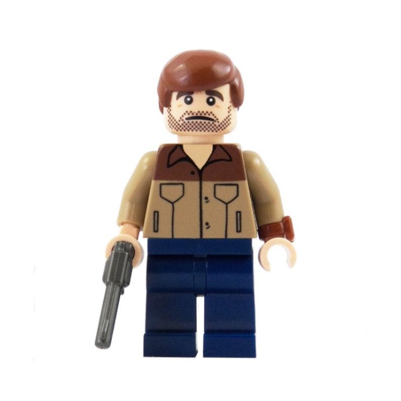 LAST ONE Rick  Zombie Hunters Series 1  miniBIGS Custom image 0