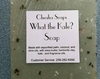 What the Kale? VEGAN soap