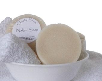 Naked Soap - Unscented, Natural VEGAN soap