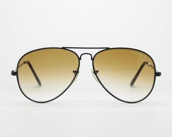4b46f439467 Vintage 80s aviator sunglasses