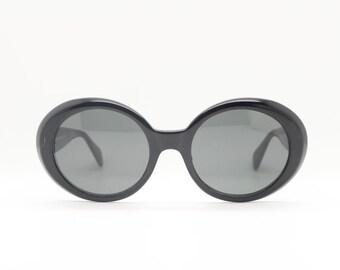 3600ab5ad4 60s style vintage sunglasses. NOS. Round oversized glasses