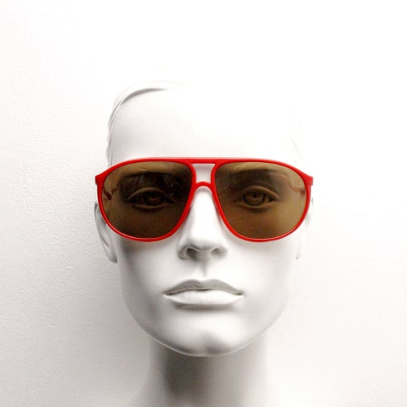 CEBE 80s vintage aviator sunglasses by made in Fr… - image 5