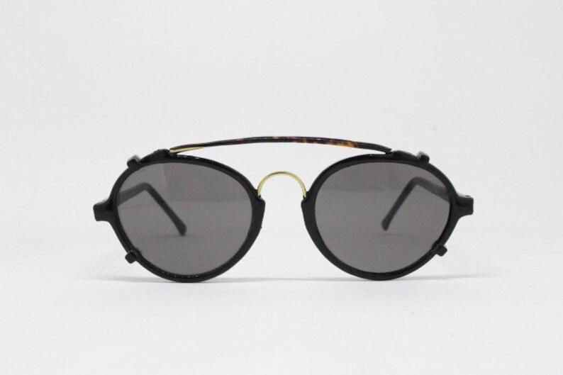 1b3db8ed7abd 90s aviator sunglasses. NOS. Original real vintage eyewear.