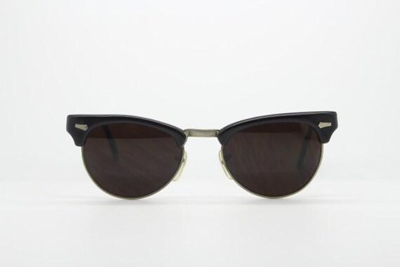 394098c27d Cat eye 50s vintage sunglasses. Club master style browline