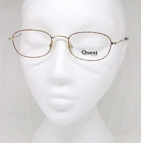 90s vintage glasses made in Germany by Metzler for Quest.