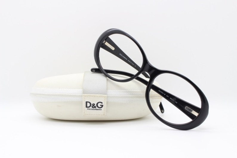 d8200d3570a4 Dolce   Gabbana glasses. Large 60 s style black frames