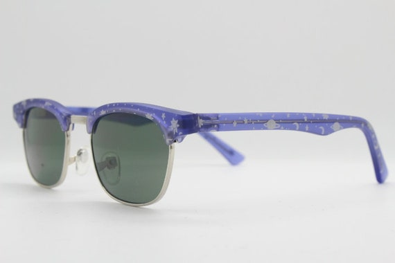 Kids vintage clubmaster style sunglasses. 90s chi… - image 4