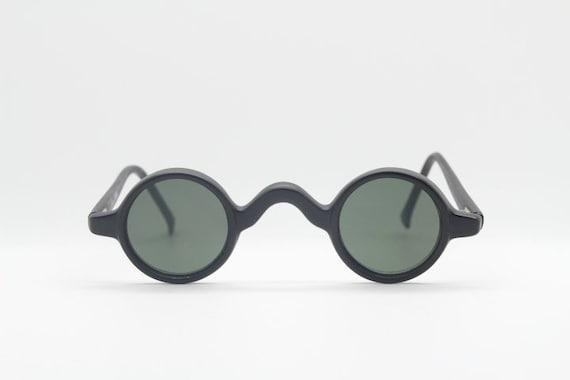 a0a306f44b Ultimate micro 90 s vintage sunglasses. Tiny black matt