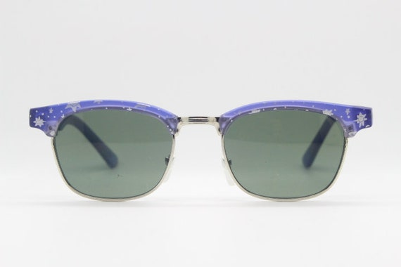 Kids vintage clubmaster style sunglasses. 90s chi… - image 2