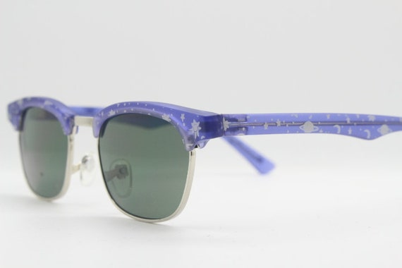 Kids vintage clubmaster style sunglasses. 90s chi… - image 3