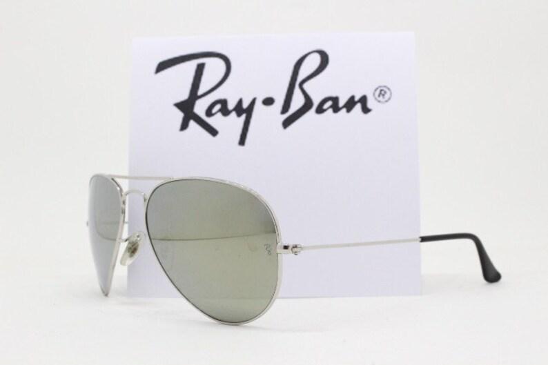 b85ae7510cf05 Gafas de sol Ray-Ban P clásico aviador. Lente espejeada plata.