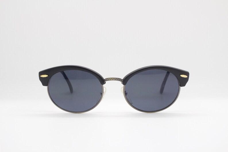 8ecc00dabad13 90 s vintage sunglasses. Cat eye clubmaster style half