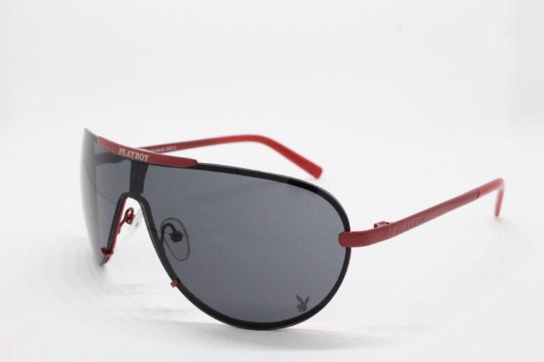 155ca37e6140e Playboy sunglasses 90s vintage glasses aviator metal frame