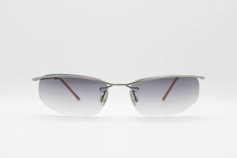 Suspended 90s LensesBnwtUnworn Frameless SunglassesVintage With OriginalsCat Browline EyeClub Grey Graduated Kids00's2000's OkiPXZuT