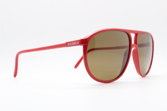 CEBE 80s vintage aviator sunglasses by made in Fr… - image 4