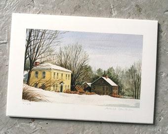 Winter Village (PRINT)