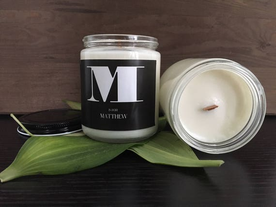 21st Birthday Gift For Her Personalized Soy Candle
